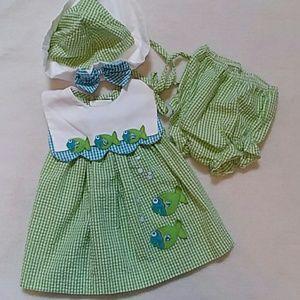 Rare editions 3pc dress set